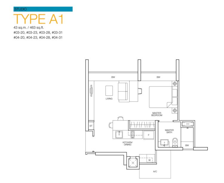 Caspian Condominium Details In Jurong West Nestia Singapore