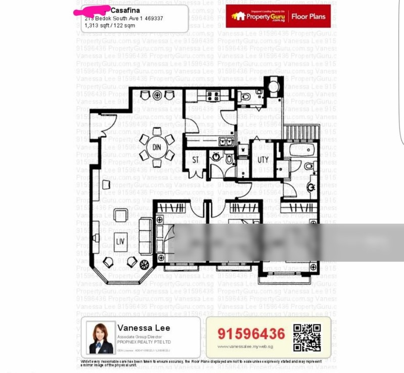 Casafina 213 Bedok South Ave 1 Entire Unit 3 Bedrooms Condominiums Apartments And Executive Condominiums For Rent By Vanessa Lee S 3588 Nestia