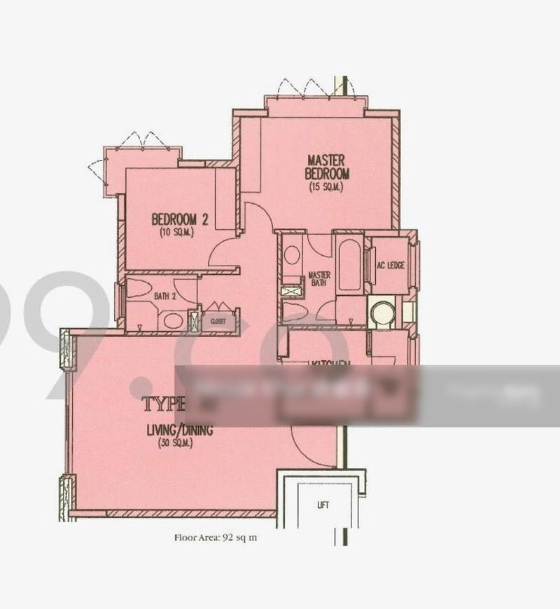 Costa Rhu 1 Rhu Cross Entire Unit 2 Bedrooms Condominiums Apartments And Executive Condominiums For Rent By Nicole Khor S 3200 Nestia